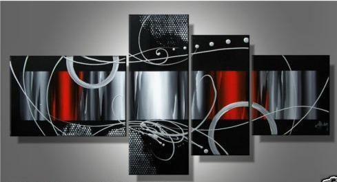 Modern Oil Paintings on canvas abstract painting -set12064