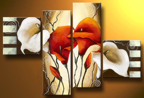 Modern Oil Paintings on canvas abstract painting -set12073