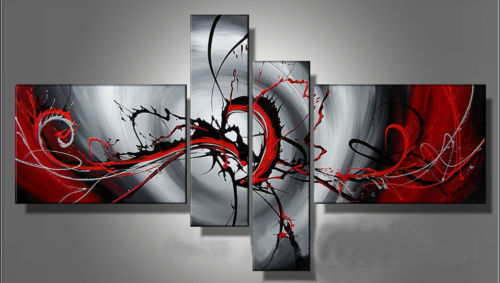 Modern Oil Paintings on canvas abstract painting -set12074