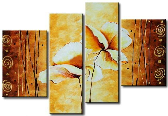 Modern Oil Paintings on canvas abstract painting -set12075
