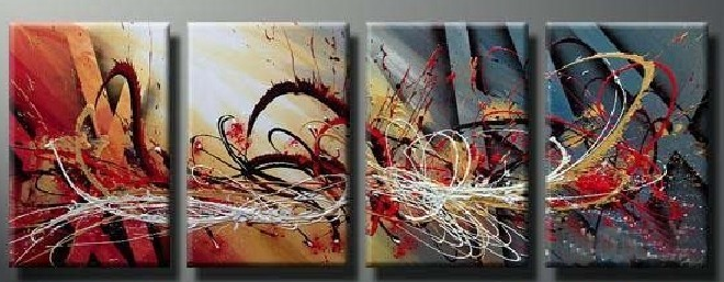 Modern Oil Paintings on canvas abstract painting -set12077