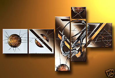 Modern Oil Paintings on canvas abstract painting -set12080