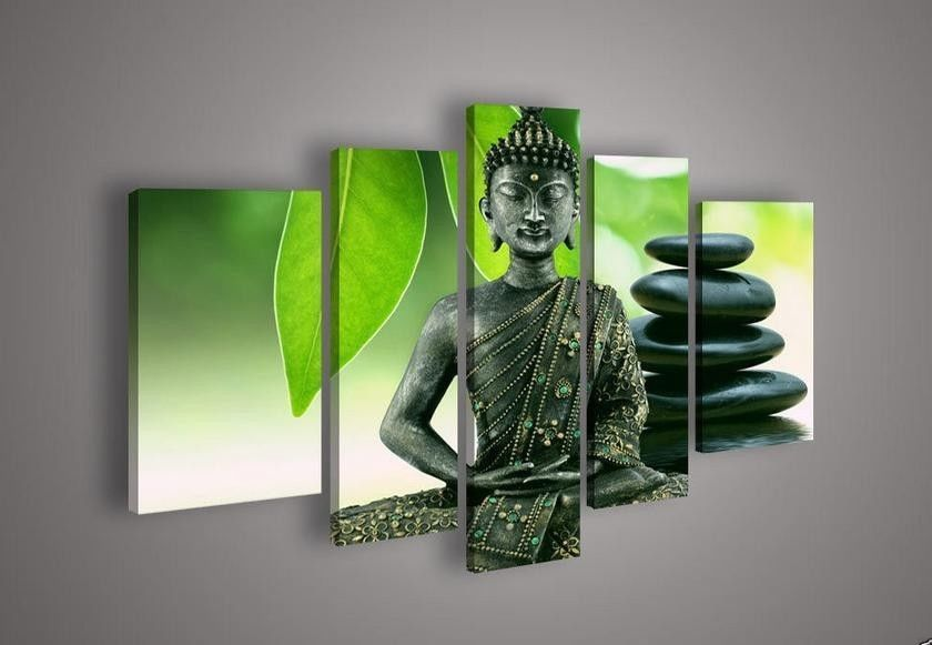 Contemporary zen art Buddha oil painting Buddha010