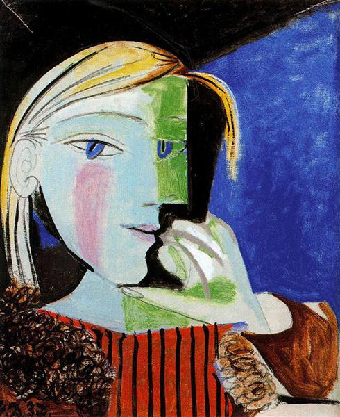 Pablo Picasso Oil Painting Portrait Of Marie-Therese Walter