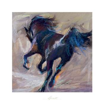 Dafen Oil Painting on canvas -horse050