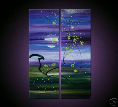 Dafen Oil Painting on canvas flower -set036